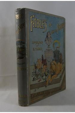 FABLES de LA FONTAINE. 1er tirage des illustrations de VIMAR, Tirage limité sur vélin, 1897 - MAME