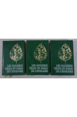 Les dossiers verts et noirs de l'écologie - 3 Tomes. Famot, 1979, photos - BARLOY