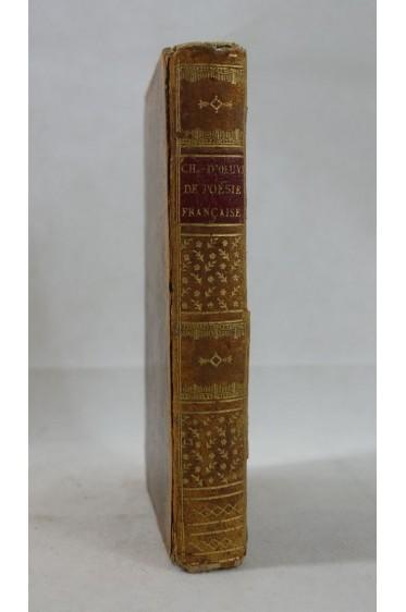 Chefs-d'oeuvre de Poésie Française - Voltaire, Racine, Boileau - RARE, 1806, RELIURE