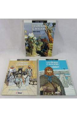 EO - LES HEROS CAVALIERS tomes 1 à 3. COTHIAS, ROUGE, TARRAL - Glénat, 1987 1988 1993