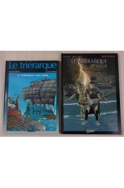 EO - Le Triérarque sans nom - Les Clés de Jérusalem, tomes 1 et 2. RUFFIEUX et SAINT MICHEL