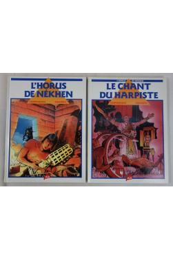 EO - RAMAIOLI et CORTEGGIANI- L'Horus de Nékhen en 2 tomes - Le chant du harpiste. Milan, 1989