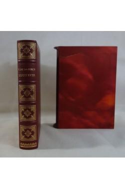Louis XVIII. Grand prix des meilleures oeuvres historiques, Sauret, numéroté sur vergé d'Arches