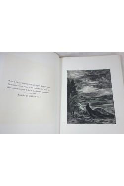 Phosphorescences. Gravures d'Herbert Lespinasse, interprétées par Jules Supervielle. Numéroté, 1935