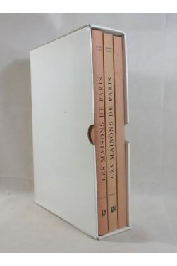 Jacques FREDET. Les MAISONS de PARIS - coffret en 3 volumes, grands plans . ARCHITECTURE - 2003