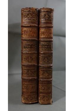 EO - De MONTVALON. Traité des Successions, 1780 - tomes 1 et 2. RELIURE, Droit Romain