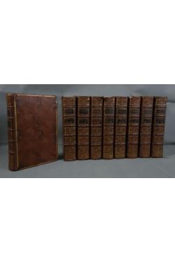 VALMONT de BOMARE. Dictionnaire universel d'HISTOIRE NATURELLE - 1775 - 9 tomes, complet