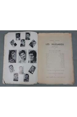 Théâtre des Noctambules. Les Hussards. Tragi-comédie de BREAL et FABBRI avec Rosy, Varte
