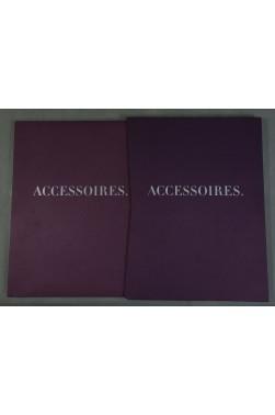 RARE Catalogue ACCESSOIRES. Printemps 97 - illustré - étui - beau papier - MODE