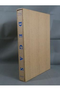 DEGAS - 48 planches couleurs. Nouvelles Editions Françaises, Catton RICH. Emboitage