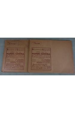 Documents de Géographie, 1ère et 2ème séries, FRANCE et MONDE. Photos, Manuel Général