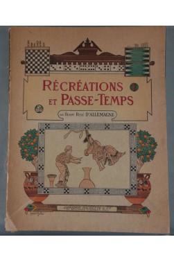 EO, D'ALLEMAGNE. Récréations et Passe-Temps - Planches couleurs, 1905. RARE JEUX
