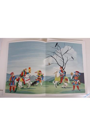 Amis et Amille. Mystère du XIVe siècle. Lithographies en couleurs de André Derain.