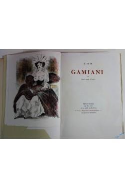 Gamiani ou deux nuits d'excès. Lithographies de Berthommé Saint-André.