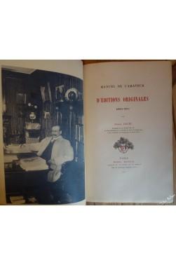 Manuel de l'amateur d'éditions originales 1800-1911.
