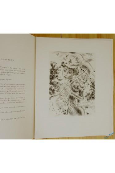 L'Écornifleur. Gravures originales de Jacques Boullaire