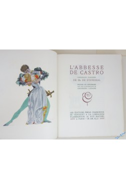 L'Abbesse de Castro, chronique italienne de M. de Stendhal. Édition du centen...