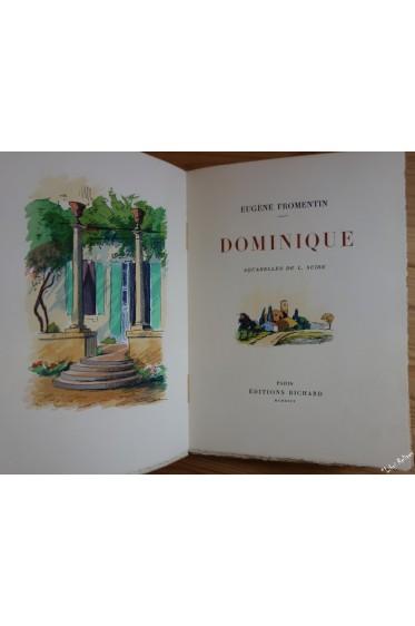 Dominique. Aquarelles originales de Louis SUIRE. NUM sur Arches
