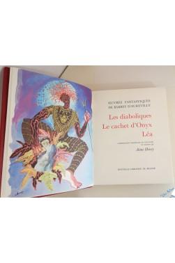 Oeuvres fantastiques : Les diaboliques, Le cachet d'onyx, Léa, Une vieille maitresse. Compositions originales de Aimé Henry.