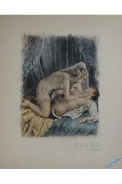 Le diable au corps, compositions en couleurs de Paul-Emile Bécat.