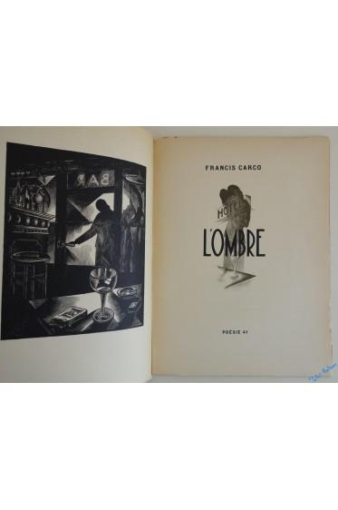 L'ombre. Illustrée de bois gravés par Jean ANGLADON.