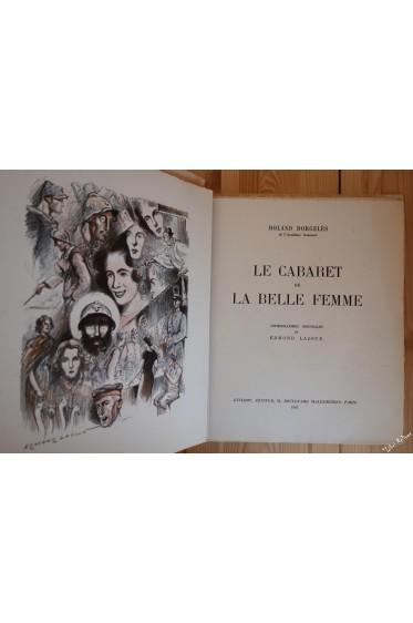 Le cabaret de la belle femme. Lithographies originales de E. LAJOUX
