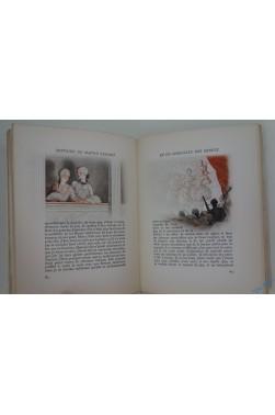 Histoire de Manon Lescaut et du chevalier des Grieux. 33 aquarelles originales de Jean DROIT