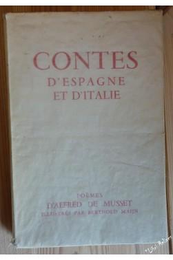 CONTES D'ESPAGNE ET D'ITALIE - Poèmes illustrés par Berthold Mann.