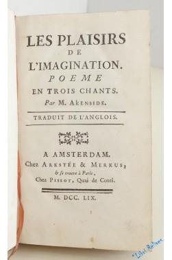 Les Plaisirs De L'imagination. Poème En Trois Chants.