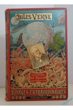 Cinq semaines en ballon. Voyage de découvertes en Afrique par trois Anglais.