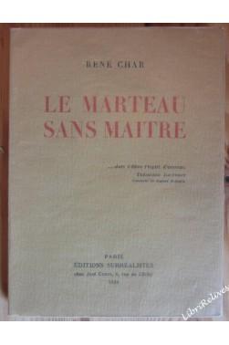 LE MARTEAU SANS MAITRE