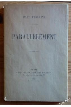 PARALLELEMENT. Edition Originale.