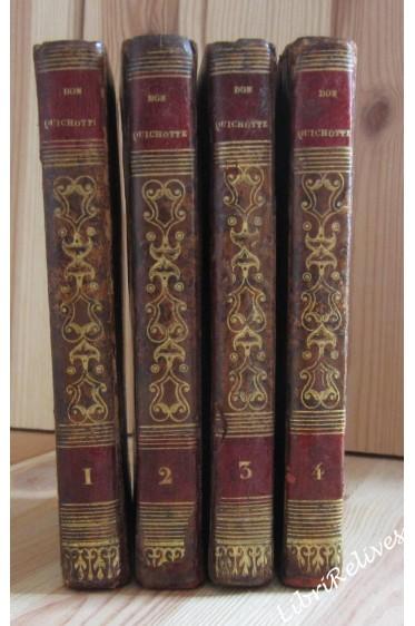 DON QUICHOTTE DE LA MANCHE traduit par FLORIAN, ouvrage posthume