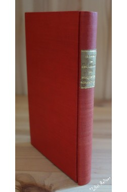 Bibliographie Des Plaquettes Romantiques par Charles Nauroy