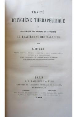 Traité d'hygiène thérapeutique, ou Application des moyens de l'hygiène au traitement des maladies.
