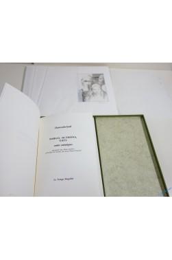Dargo, Duthona, Gaul. 11 eaux-fortes signées 1/10 ex