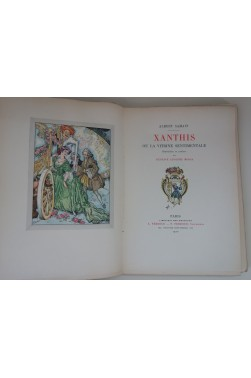 Xanthis. Illustrations en couleurs de Mossa + suites