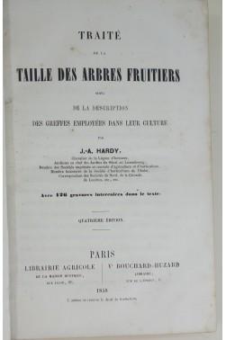 Traité de la taille des arbres fruitiers, suivi de la description des greffes. 126 gravures