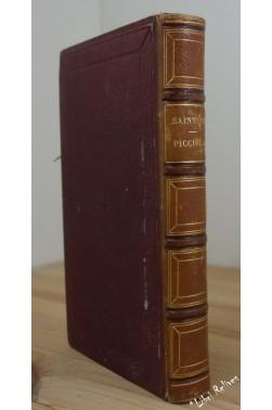 Saintine X.-B. Picciola - Librairie Hachette, 1858, relié