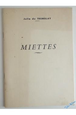 Miettes [Broché]