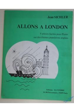 ALLONS A LONDON 6 Pièces faciles pour Piano [Partition]