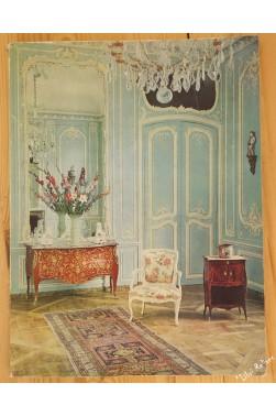 La Demeure parisienne au 18e siècle. Collection Henriette Bouvier : Léguée au...