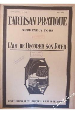 ARTISAN PRATIQUE [No 254] du 01/08/1930 - GRAVURES ET DESSINS - METAL - PYROG...